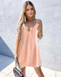 Дамска рокля в розово - код  4189