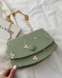 Дамска чанта в цвят мента - код B471
