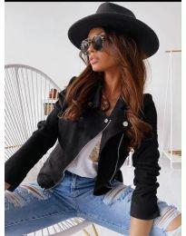 Дамско тънко яке в черно - код 562