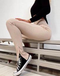 Елегантен панталон в бежово - код 2172