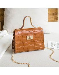 Дамска чанта в кафяво - код B97