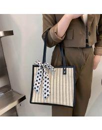 Атрактивна дамска чанта в черно - код B532