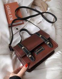 Дамска чанта в цвят кафяво - код B429