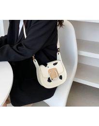 Атрактивна дамска чанта в бяло - код B501