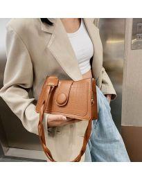 Елегантна дамска чанта в кафяво - код B150