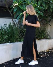 Дамска рокля в черно - код 0324