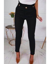 Дамски елегантен панталон в черно - код 964