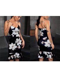 Феерична рокля в черно - код 5510