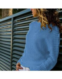 Дамска блуза в светло синьо - код 825