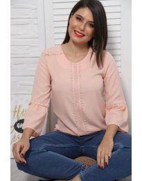 Дамска блуза в розово - код 0629