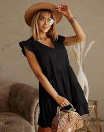Дамска рокля в черно - код 6224