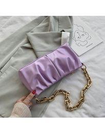Дамска чанта в лилаво - код B42