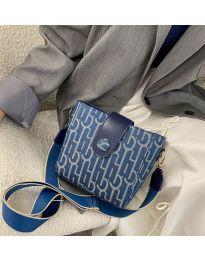 Дамска чанта в синьо - код B116