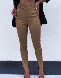 Дамски панталон в кафяво - код 9059