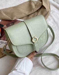 Елегантна дамска чанта в цвят мента - код B575