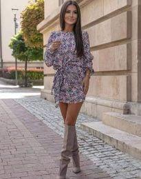 Ефектна дамска рокля - код 0361 - 5