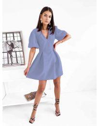 Дамска рокля в светлолилаво - код 0807