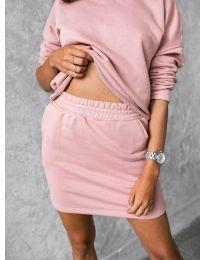 Дамски комплект в розово - код 817