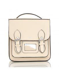 Дамска чанта в бежово - код SP9027