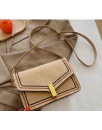 Дамска чанта в цвят капучино - код B160