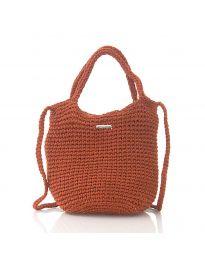 Дамска чанта в бордо - код CF226-17