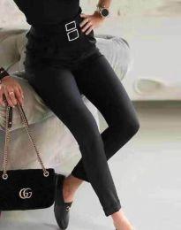 Дамски панталон в черно - код 7460