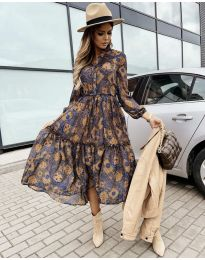 Атрактивна дамска рокля - код 9660 - 7