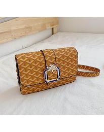 Дамска чанта в цвят горчица - код B94