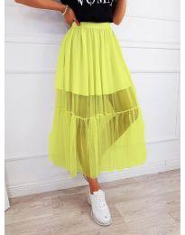 Пола в цвят жълто - код 0008
