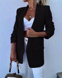 Елегантно дамско сако в черно - код 4566