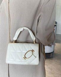 Дамска чанта в бяло - код B445