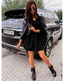 Дамска рокля в черно - код 0060