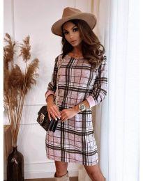Свободна дамска  рокля  - код 2520 - 1