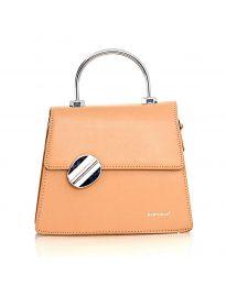 Дамска чанта в цвят капучино - код YF9237 - 1