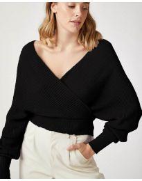 Дамска блуза в черно - код 0500