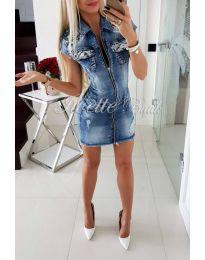 Дънкова рокля - код 966
