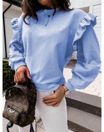 Дамска блуза в светло синьо - код 6613