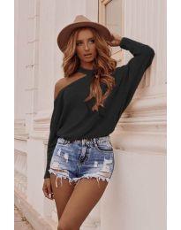 Дамска блуза в черно - код 895