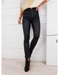 Дамски панталон в черно - код 0344
