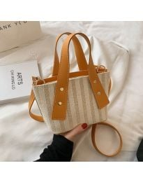 Атрактивна дамска чанта в оранжево - код B530