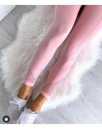 Дамски спортен клин в розово - код 2187
