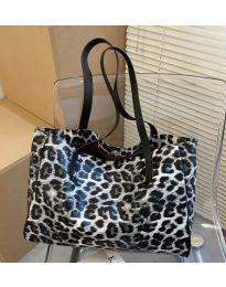Дамска чанта с животински десен - код B158 - 1