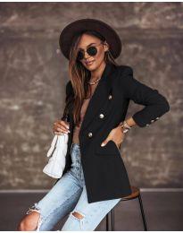 Елегантно дамско сако в черно - код 5255