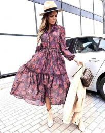 Атрактивна дамска рокля - код 9660 - 4