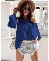 Дамска блуза в синьо - код 6561