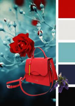 Законите на стила: какво да носите с червена чанта