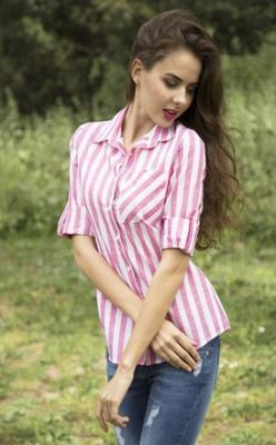 Как да носите дамска риза
