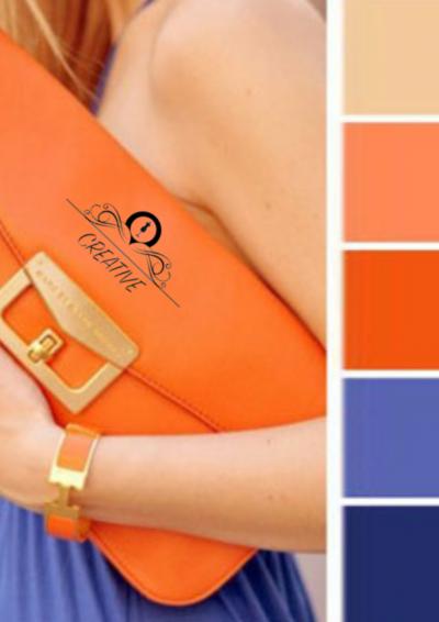 Как да комбинирате ярките цветове в дрехите