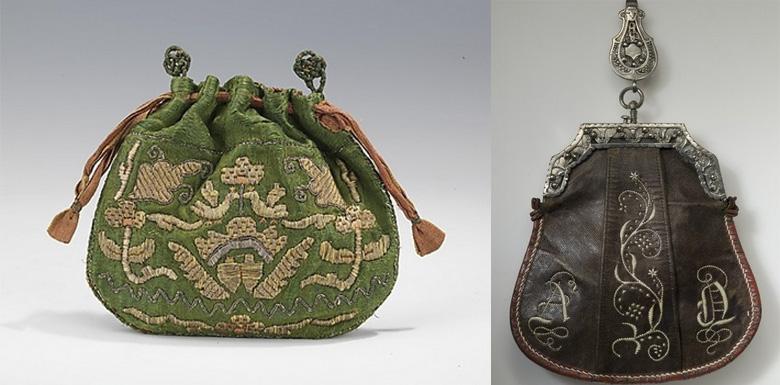 дамска чанта от 16-ти век