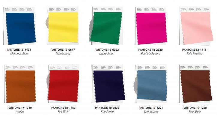 Модните цветове в дрехите есен-зима 2021-2022